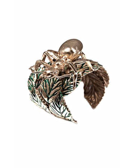 Bernard Delettrez | Metallic Giant Ant Bronze Cuff | Lyst