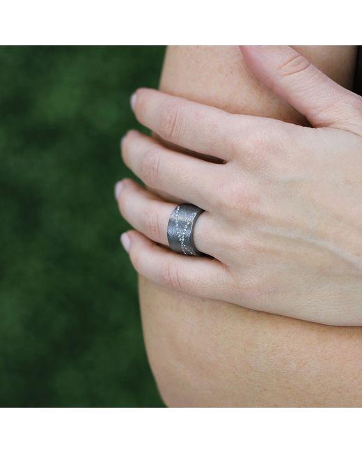 Todd Reed | Metallic Diamond X Ring | Lyst