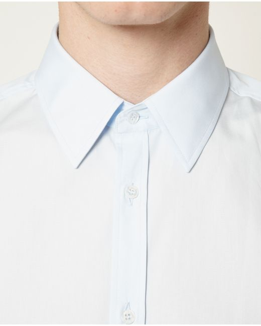 Gucci | Blue Classic Poplin Tailored Shirt for Men | Lyst