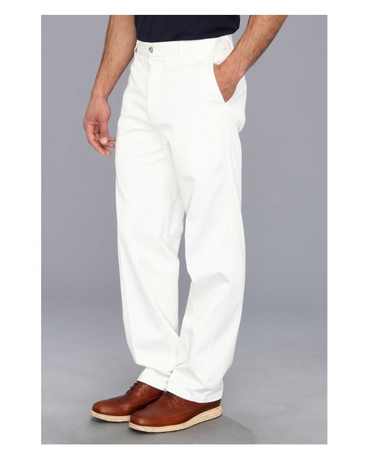 Dockers Signature Khaki D3 Classic Fit Flat Front In White