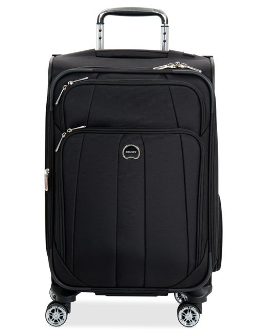 "Delsey | Black Helium Breeze 5.0 21"" Carry On Spinner Suitcase, Only At Macy's for Men 