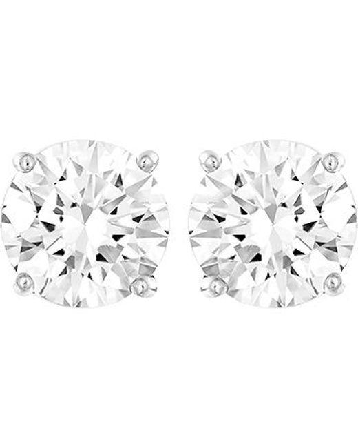 Swarovski   Metallic Attract Earring Jackets   Lyst