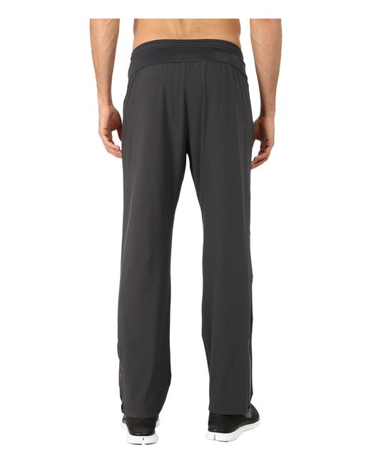 Nike Dri Fit Stretch Woven Running Pant In Gray For Men