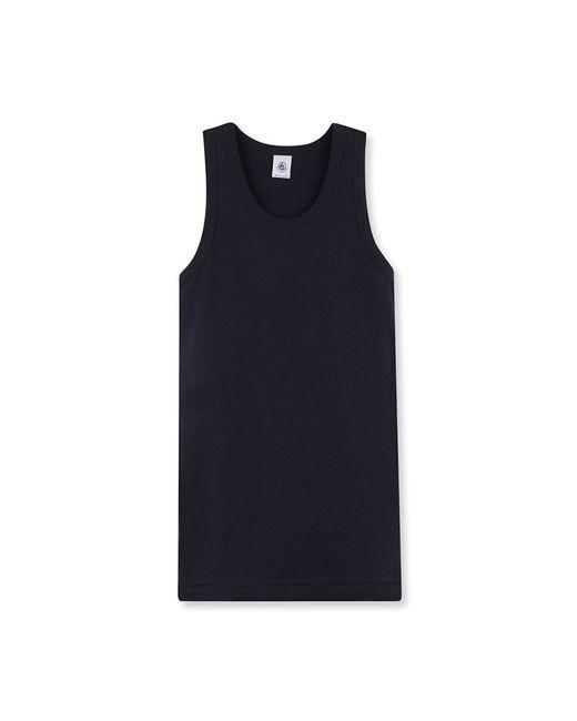 Petit Bateau   Blue Women's Plain Iconic Vest Top   Lyst