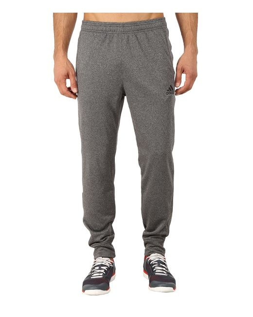 Adidas Ultimate Fleece Tapered Pants in Gray for Men (DGH Solid Grey ...