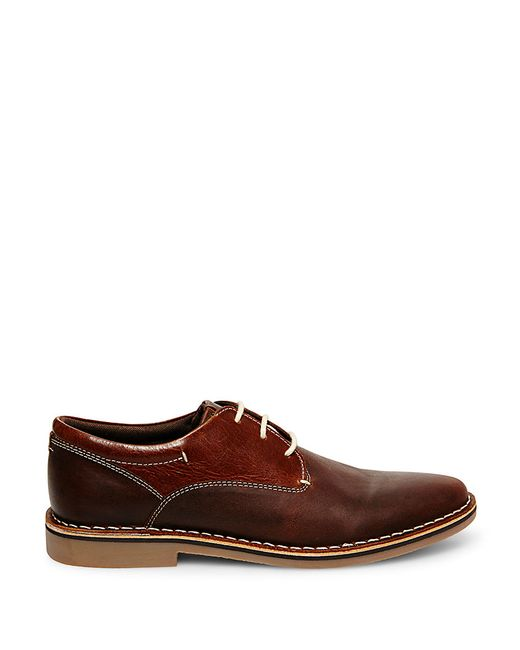 Steve Madden | Brown Leather Oxfords for Men | Lyst