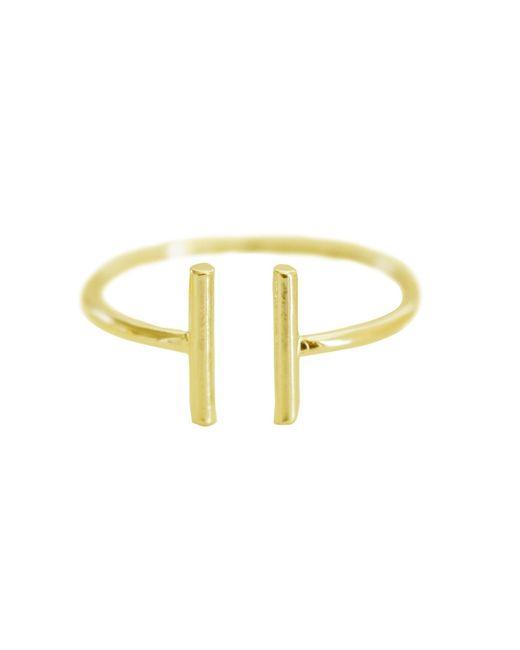 Cloverpost | Metallic Parallel Ring | Lyst