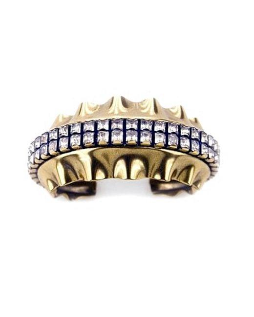 Nicole Romano | Metallic Velatida Cuff | Lyst