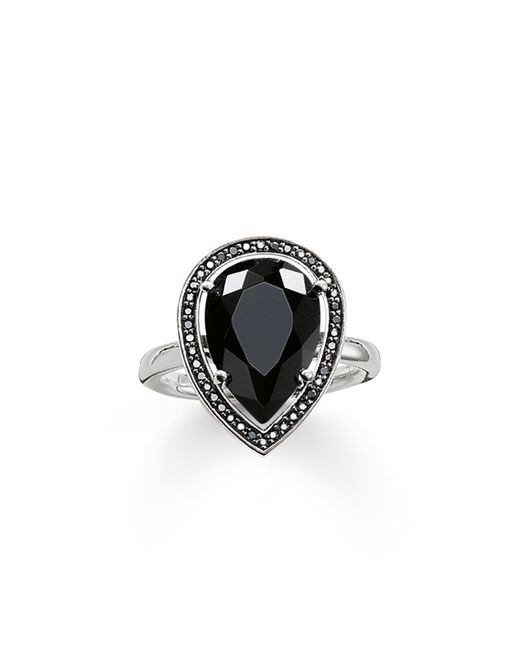 Thomas Sabo | Maharani Black Onyx Drop Ring | Lyst