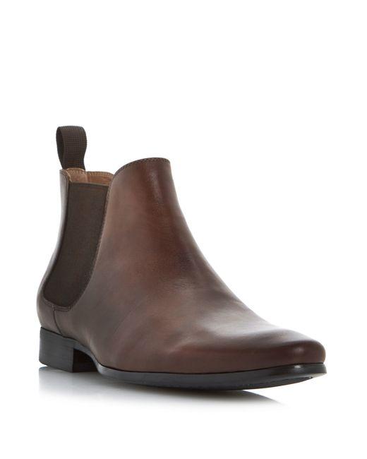 Dune | Brown Mister Smart Leather Chelsea Boot for Men | Lyst