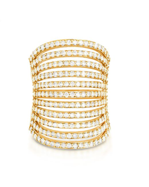 Carbon & Hyde | Metallic Spine Ring | Lyst