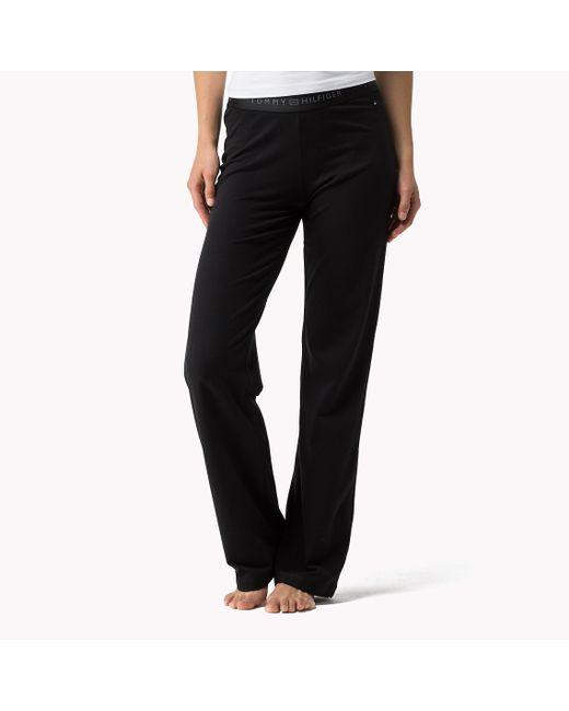 Tommy Hilfiger | Black Iconic Sweatpants | Lyst