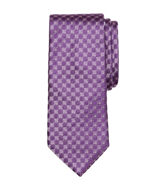 Brooks Brothers | Purple Four-petal Flower Tie for Men | Lyst