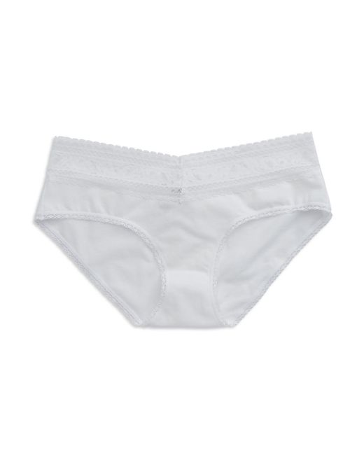 Calvin Klein | White Lace Hipster Panties | Lyst