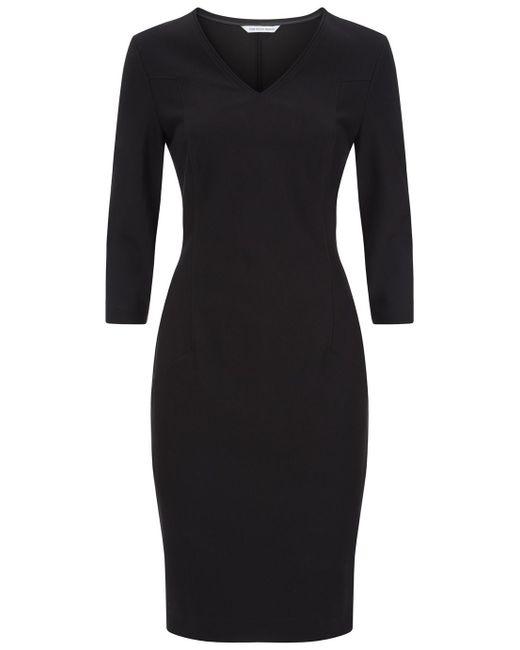 Fenn Wright Manson | Black Jett Jersey Midi Dress | Lyst