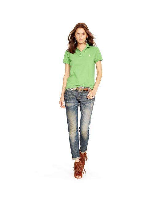 Polo Ralph Lauren | Green Classic-fit Polo Shirt | Lyst