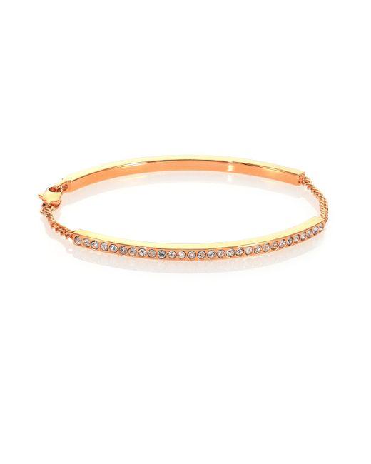 Vita Fede | Pink Mini Aria Crystal Id Bracelet | Lyst