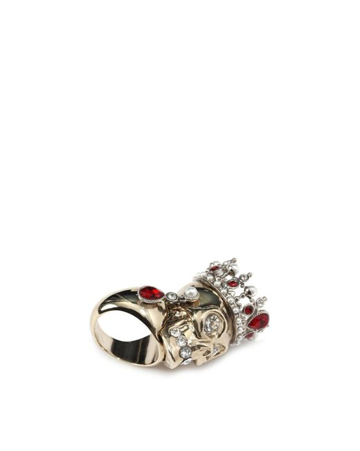 Alexander McQueen | Multicolor Royal Skull Ring | Lyst