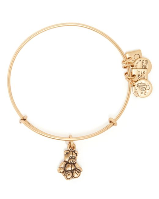 ALEX AND ANI | Metallic Little Brown Bear Expandable Wire Bangle, Charity By Design Collection - Bloomingdale's Exclusive | Lyst