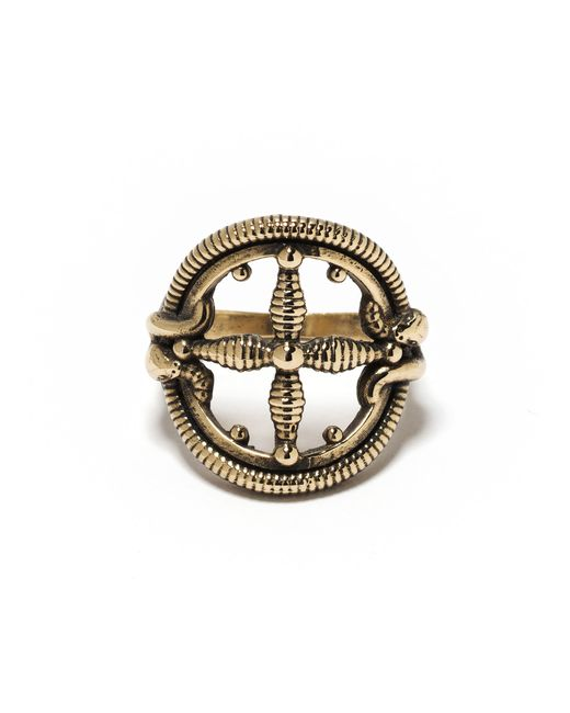 Pamela Love | Metallic Sueño Ring In Brass | Lyst