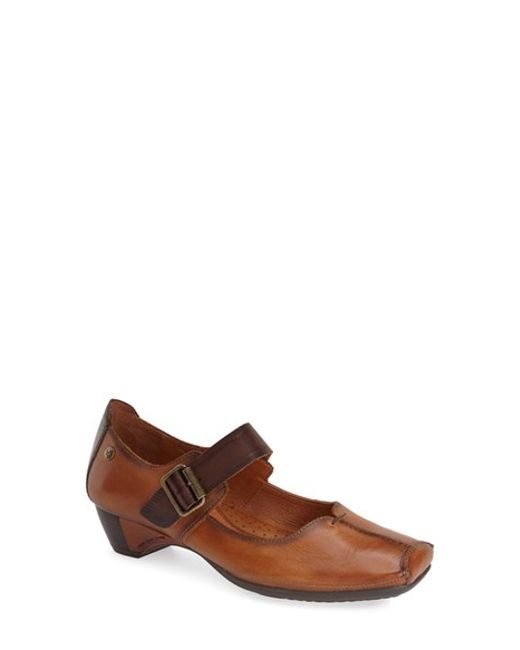 Pikolinos | Brown Gandia 2 Mary Jane Pumps | Lyst