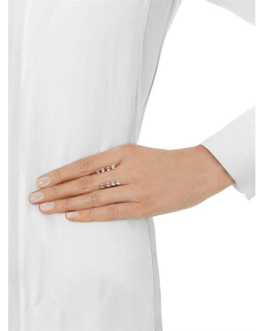 Delfina Delettrez   Metallic Sapphire & Gold Ring   Lyst