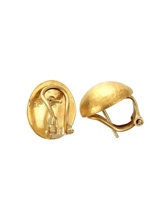 Yossi Harari | Yellow Small Roxanne Earrings | Lyst