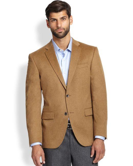 Saks Fifth Avenue | Natural Cashmere Blazer for Men | Lyst
