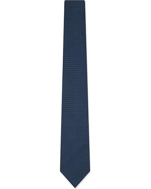 Lanvin | Black Knitted Tie for Men | Lyst