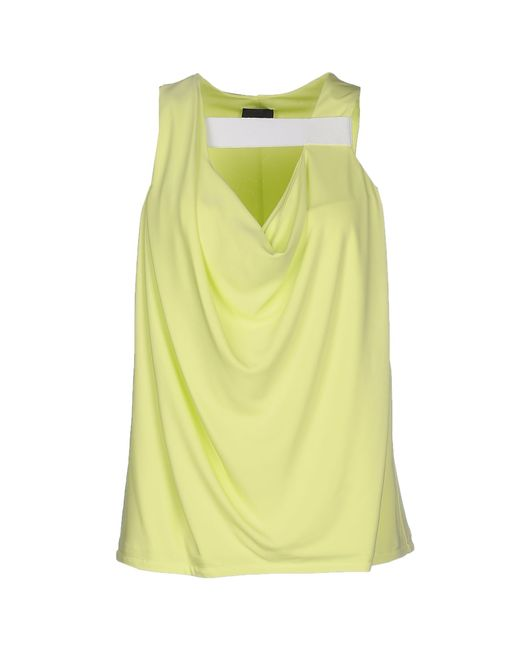 Just Cavalli | Yellow Top | Lyst