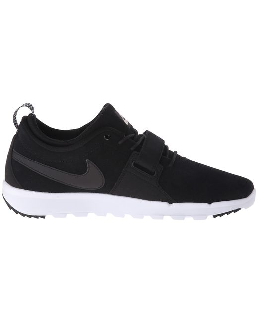 Nike Sb Trainerendor Shoes Black White