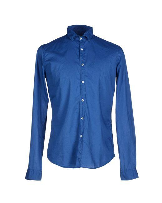 Robert Friedman | Blue Shirt for Men | Lyst