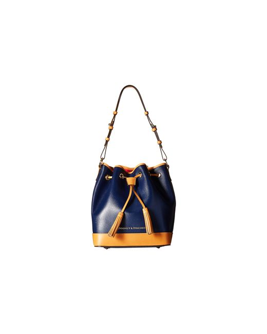 Dooney & Bourke | Blue Tampa Bay Rays Triple-zip Crossbody Bag | Lyst