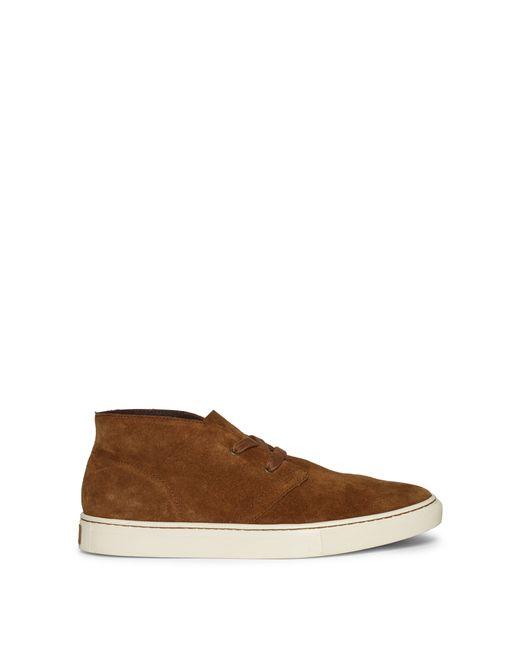 Polo Ralph Lauren | Brown Joplin Suede Sneaker | Lyst
