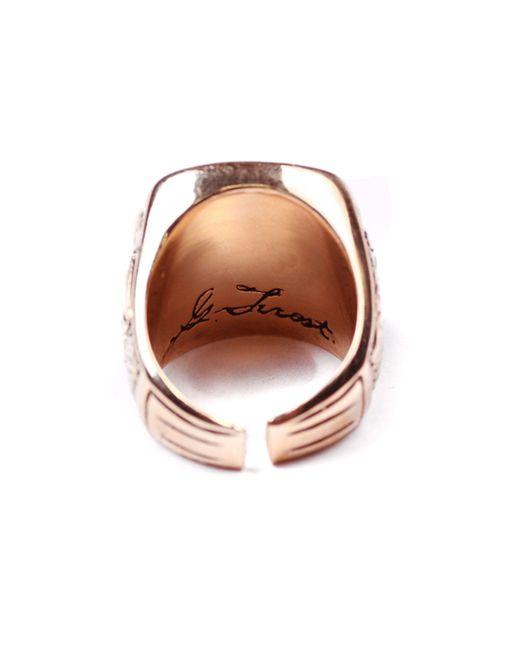 Lulu Frost | Metallic George Frost G. Frost Usn Sweetheart Ring for Men | Lyst