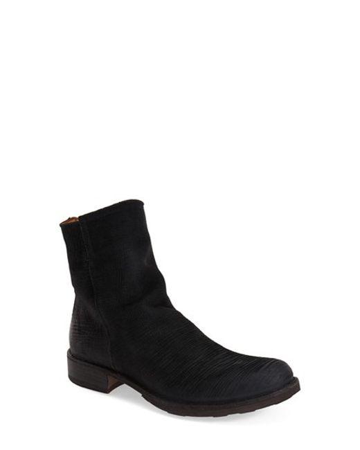 Fiorentini + Baker | Black Elf Nubuck Leather Boots | Lyst