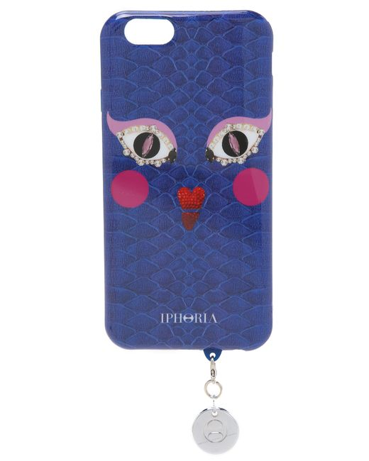 iphoria owly moly iphone 6 6s case in blue blue multi. Black Bedroom Furniture Sets. Home Design Ideas