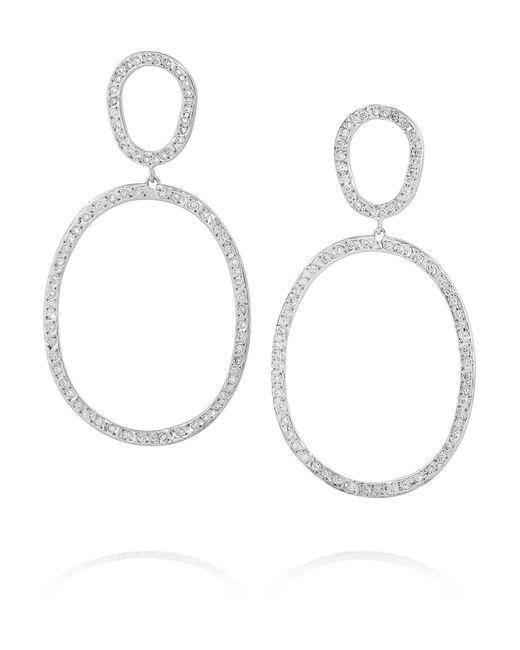 Ileana Makri | Again Single 18-Karat White Gold Diamond Earrings | Lyst