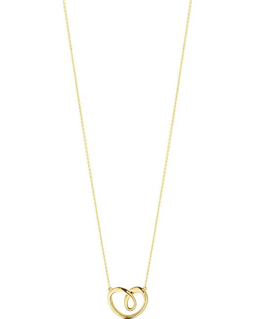 Georg Jensen | Metallic 18-carat Gold Large Heart Pendant | Lyst