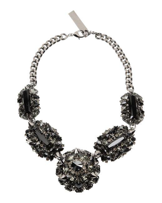 Philipp Plein | Gray Necklace | Lyst