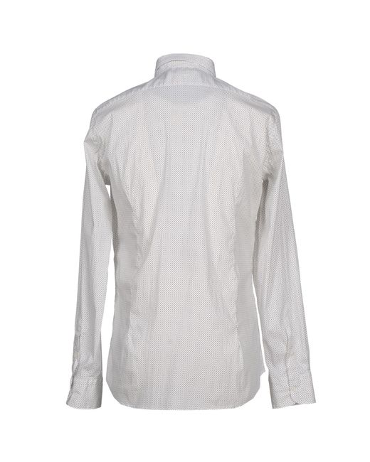 Aglini | Gray Shirts for Men | Lyst