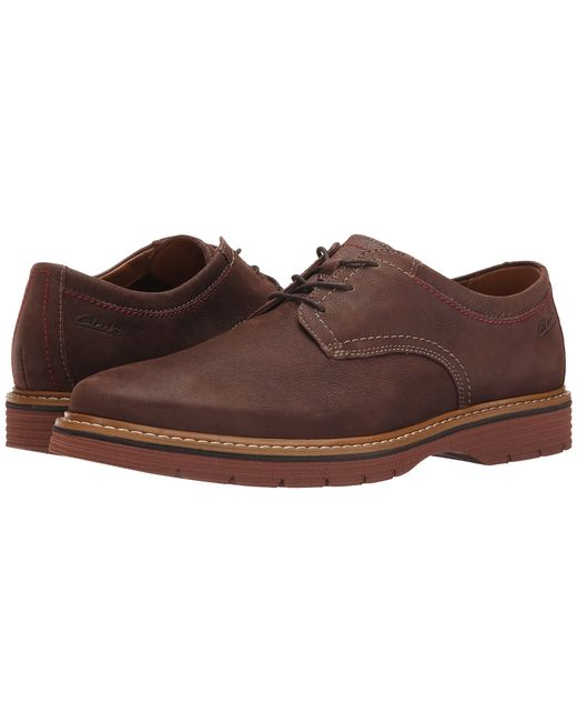 Clarks | Brown Newkirk Plain for Men | Lyst