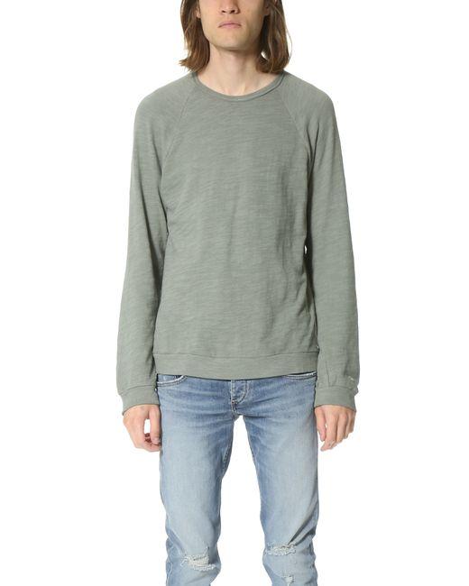 Rag & Bone | Gray Long Sleeve Raglan T-shirt for Men | Lyst