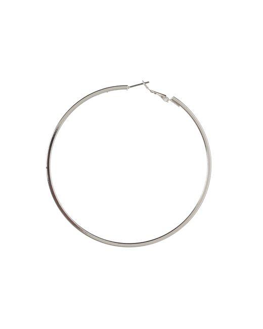 Guess | Metallic Square Edge Hoop | Lyst