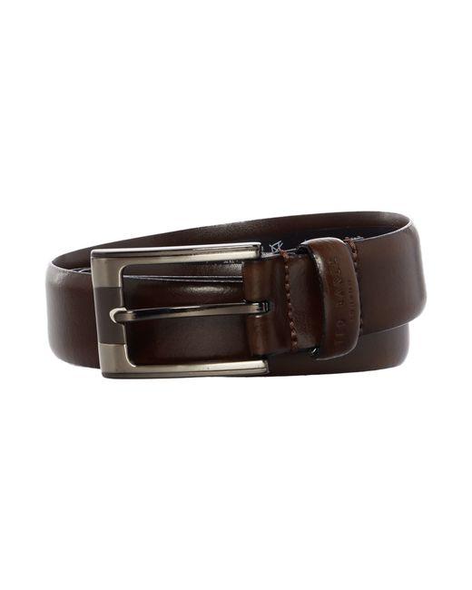 Ted Baker | Brown Formal Leather Belt for Men | Lyst