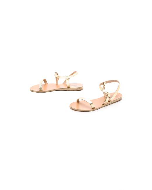 Ancient Greek Sandals | Natural Niove Sandals | Lyst