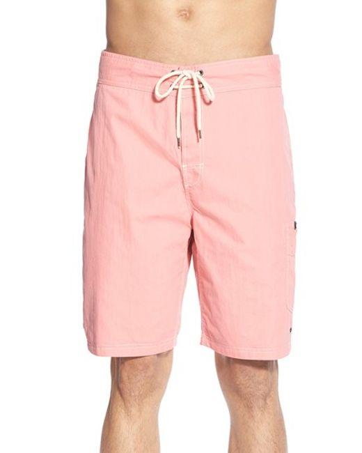 Tailor Vintage | Blue Reversible Board Shorts for Men | Lyst