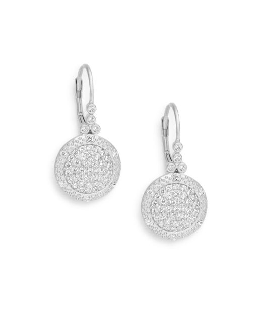 Freida Rothman | Metallic Classics Small Times Square Drop Earrings | Lyst