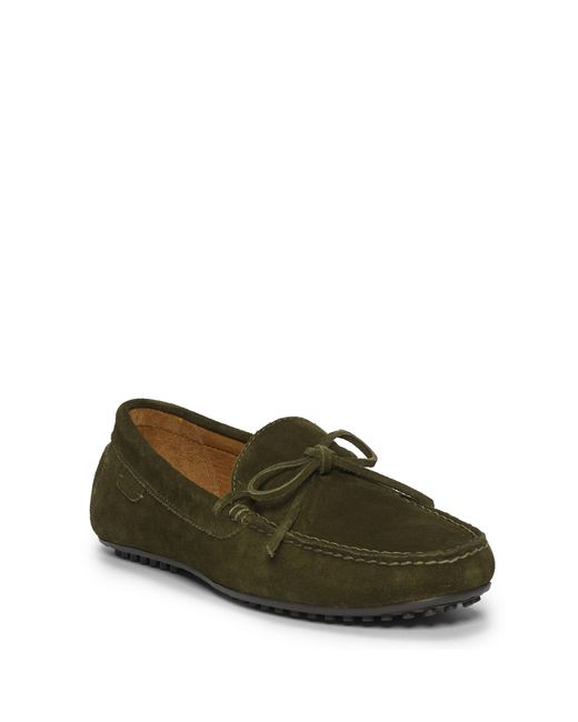 Polo Ralph Lauren | Green Woodford Suede Driver for Men | Lyst