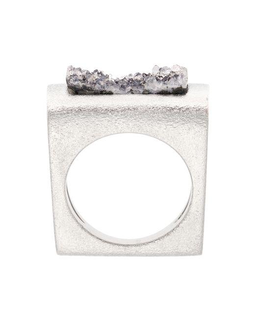 Pasionae | Metallic Folded Ring | Lyst